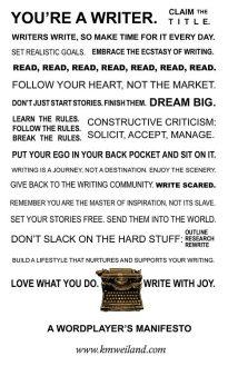 writers manifesto